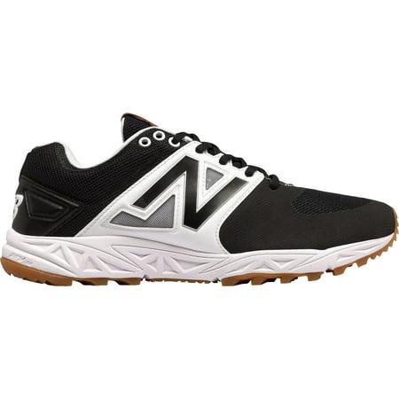 Turbo Shoes - new balance men's 3000v3 baseball turf shoes, black/white - 8 d(m) us