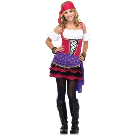 Leg Avenue Junior Crystal Ball Gypsy Girl's Halloween Costume
