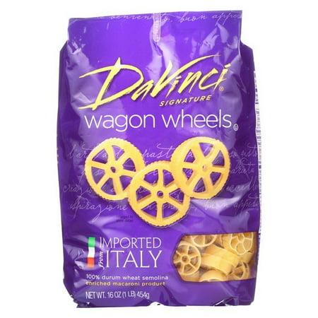 Pasta Wheel - Davinci Wagon Wheels Pasta - Pack of 12 - 1 Lb.