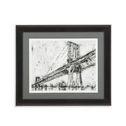 Bassett Mirror Company Iconic Suspension Bridge I