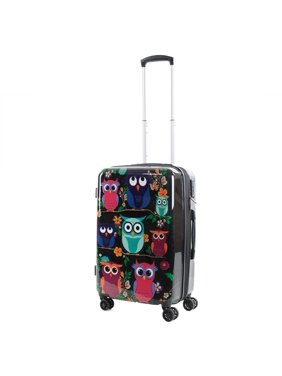 American Green Travel AGT Owls 20-inch Carry-On TSA Lock Expandable Spinner Suitcase