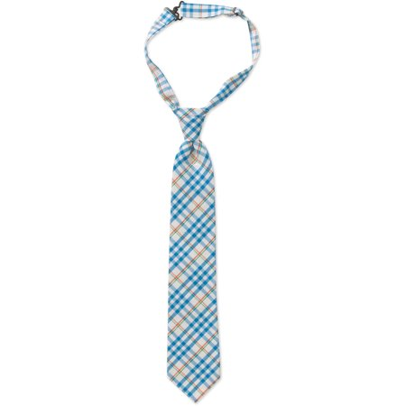 Genevieve Goings Collection Boys Orange Pre-Tied Adjustable Tie