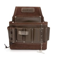 Estwing 94749 8-Pocket Leather Electrician's Tool Belt Pouch