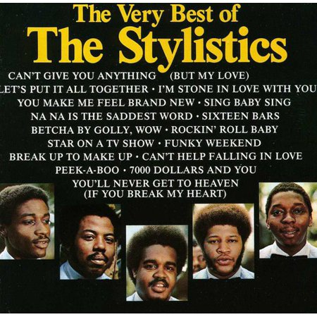The Very Best of The Stylistics (CD) (The Very Best Of Prince Cd)