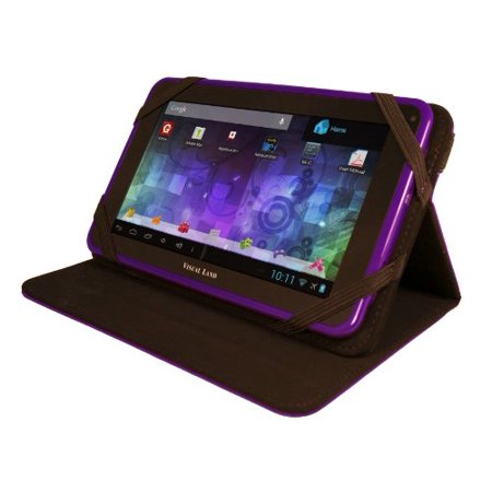 Visual Land Prestige 7L - 7-Inch Tablet with 8GB Memory and Bonus Case (Purple)