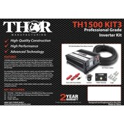 TH1500, TH001 remote with 10 ft of 1/0 cable with 150 amp fuse with 200 amp isolator