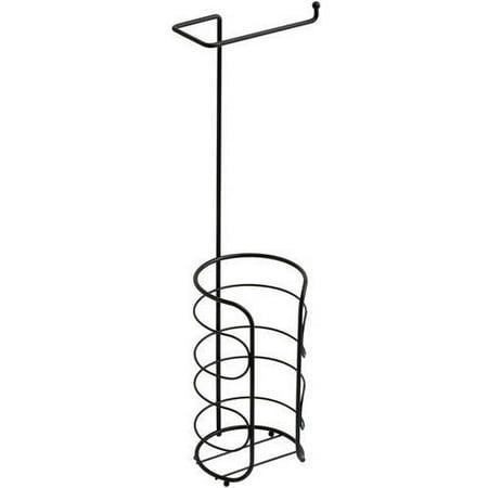 chapter freestanding toilet paper holder available in multiple colors. Black Bedroom Furniture Sets. Home Design Ideas