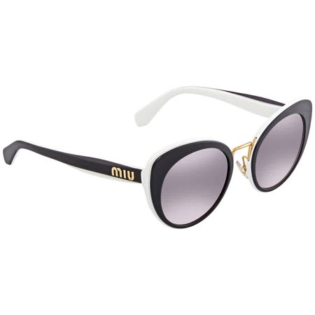 f6b4f045f0d Miu Miu - Miu Miu Pink Gradient Dark Cat Eye Ladies Sunglasses MU 06TS  J9XGR0 53 - Walmart.com