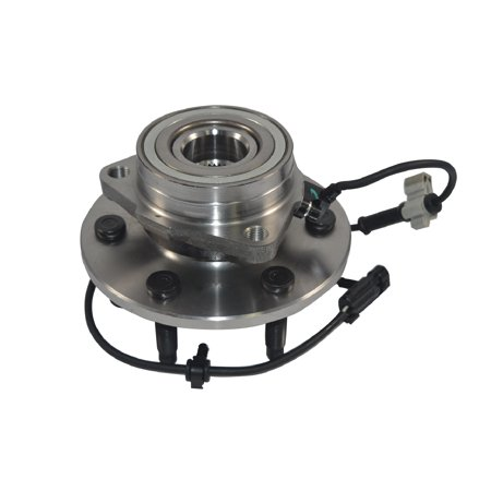 1 New Front Wheel Hub Bearing Assembly For GMC Chevy Cadillac Truck 4x4 4WD AWD (4x4 Wheel Hub Bearing)