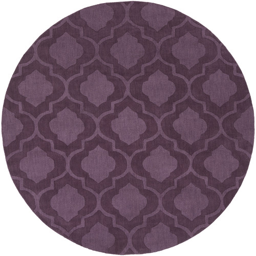 Artistic Weavers Central Park Purple Geometric Kate Area Rug