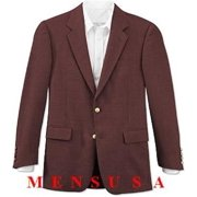 Dark Burgundy ~ Maroon Blazer~ Wine Color Designer Casual Cheap Priced Fashion Mens Wholesale Blazer Dress Jacket 2 Button Front 4 On Sleeves Fully Lined Metal Button (Men + Women)