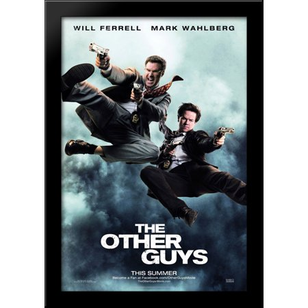 The Other Guys 28x40 Large Black Wood Framed Print Movie Poster Art