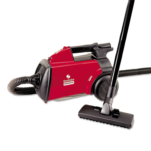 Electrolux Commercial Compact Canister Vacuum, 10lb, Red EUR SC3683B