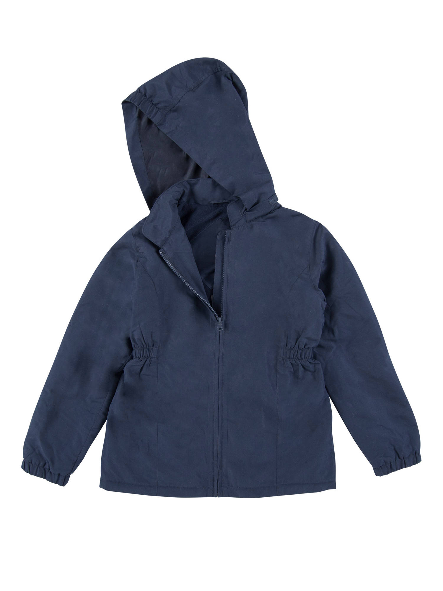 School Uniforms Girls Hooded Nylon Parka Jacket