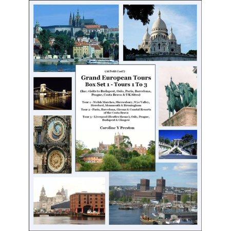 Grand European Tours Box Set 1- Tours 1 To 3 (Inc. visits to Budapest, Oslo, Paris, Barcelona, Prague, Costa Brava & UK Sites) - (Designer Discount Sites Uk)
