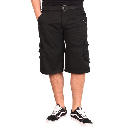 OLD SKOOL Garment Washed Belted Cargo Shorts (Back To The Old Skool Club Classics)