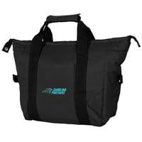 Carolina Panthers Logo Kooler Bag - Black - No Size