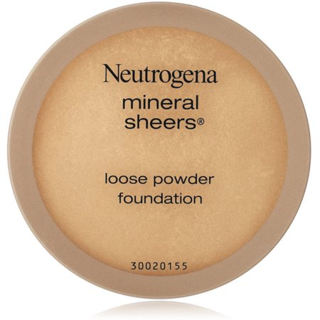 Organic Mineral Loose Foundation Powder - Neutrogena Mineral Sheers Loose Powder Foundation, Buff [30] 0.19 oz (Pack of 2)