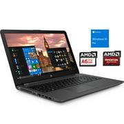 "HP 255 G6 Notebook, 15.6"" HD, AMD Dual-Core A6-9225 Upto 3.0GHz, 8GB RAM, 256GB SSD, DVD-RW, VGA, HDMI, Card Reader, Wi-Fi, Bluetooth, Windows 10 Pro"