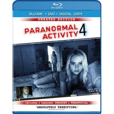 Paranormal Activity 4 (Rated/Unrated) (Blu-ray + DVD) (Paranormal Activity Halloween)