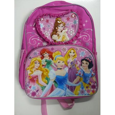Backpack - Disney - Princess - Heart Princess New (Large School Bag) 626938  - Walmart.com