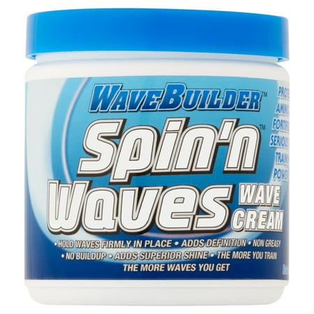 (2 Pack) WaveBuilder Spin'n Waves Wave Cream, 8 (Best Hair Cream For Waves)