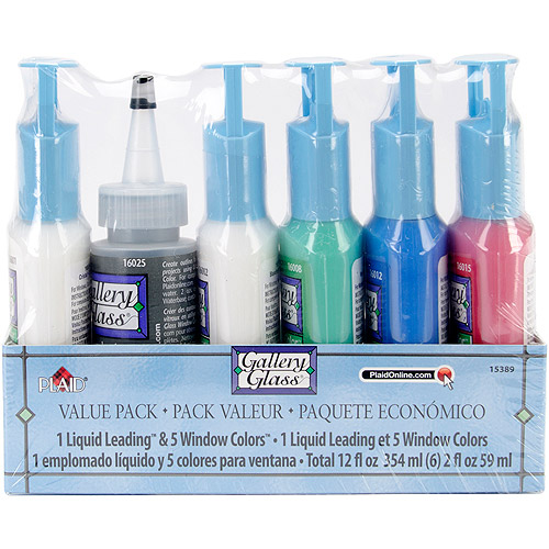 Gallery Glass Window Color Paint Set