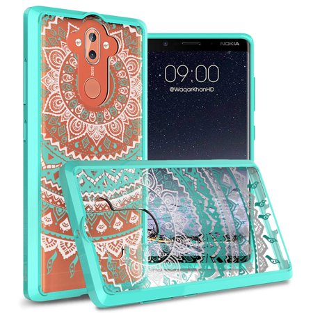 CoverON Nokia 9 Case, ClearGuard Series Clear Hard Phone
