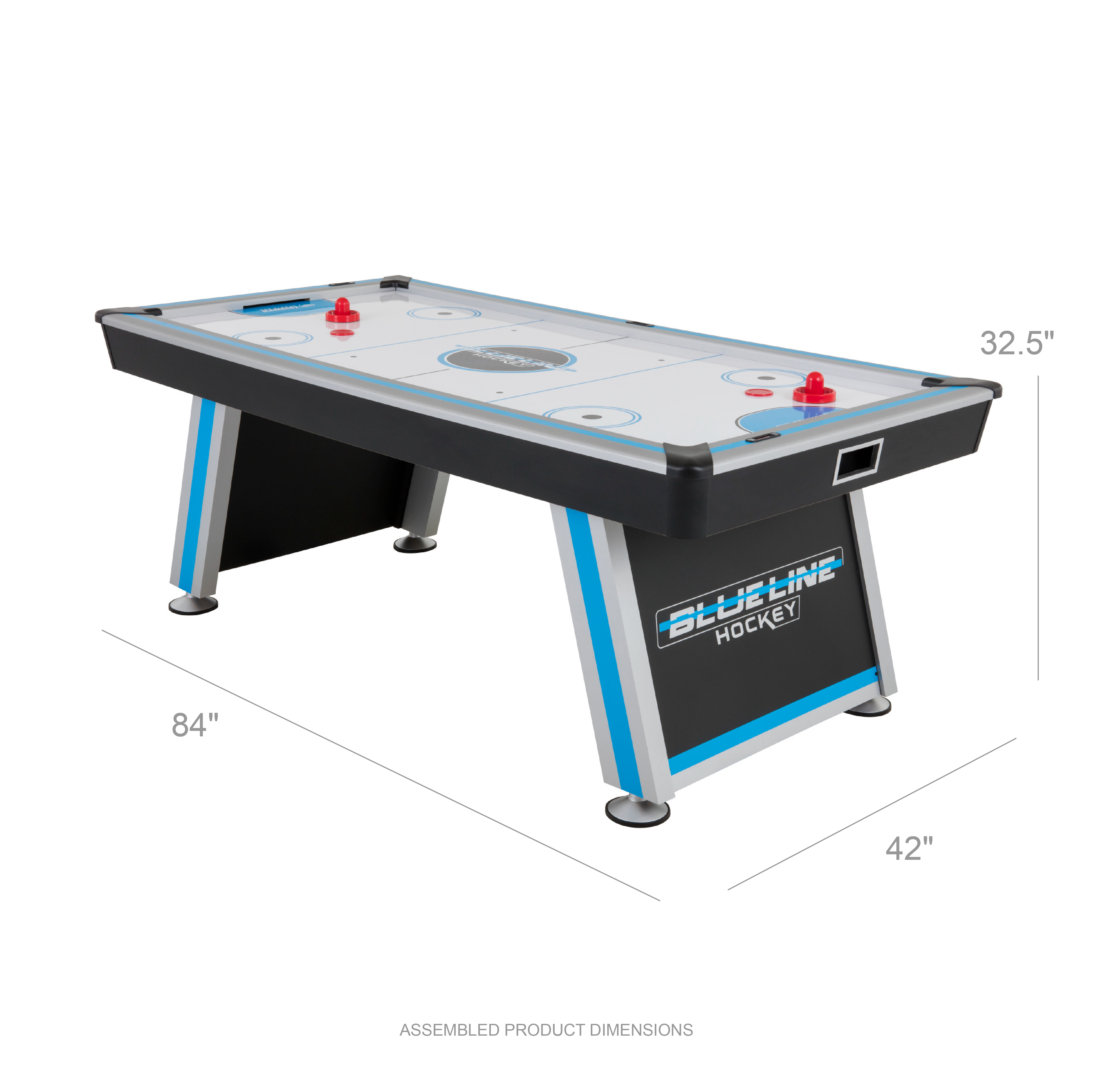 Triumph Blue Line 7 Air Powered Hockey Table With 100v Motor And