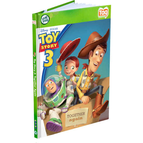 """LeapFrog  LeapReader Book: Disney""""Pixar Toy Story 3: Together Again (works with Tag)"""