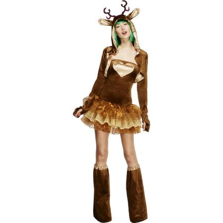 Fever Reindeer Women's Costume - Make Reindeer Costume