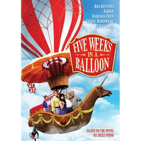 Five Weeks In A Balloon (DVD) (This Week In Geek Halloween)