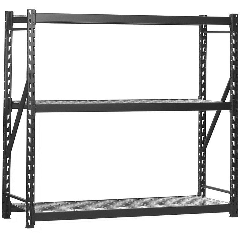 EDSAL Muscle Rack 3-Tier Steel Freestanding Shelving Unit