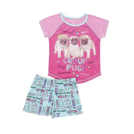 GIRLS PJ SET - S/S](Girls Sleepwear Sale)