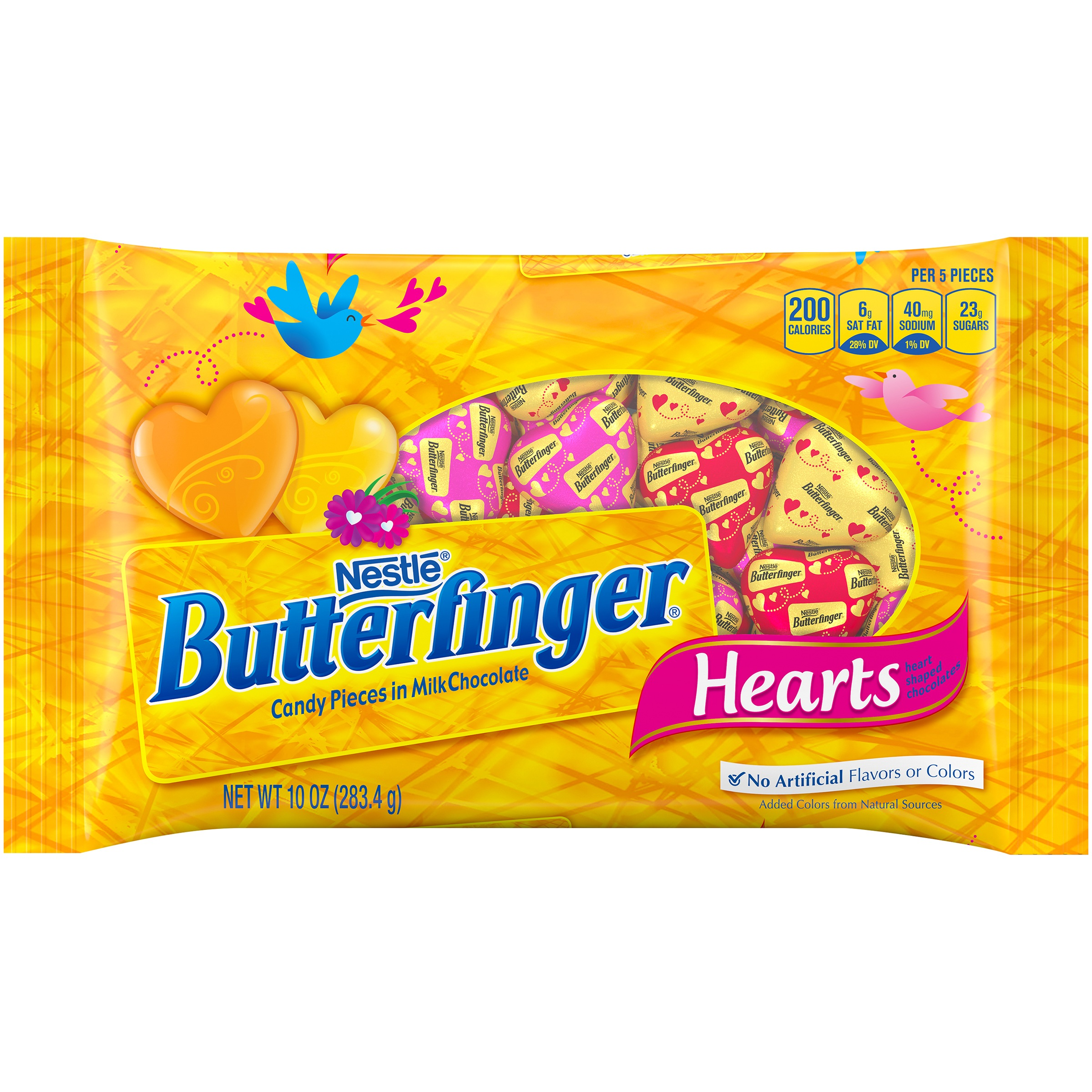 BUTTERFINGER Hearts 10 oz bag