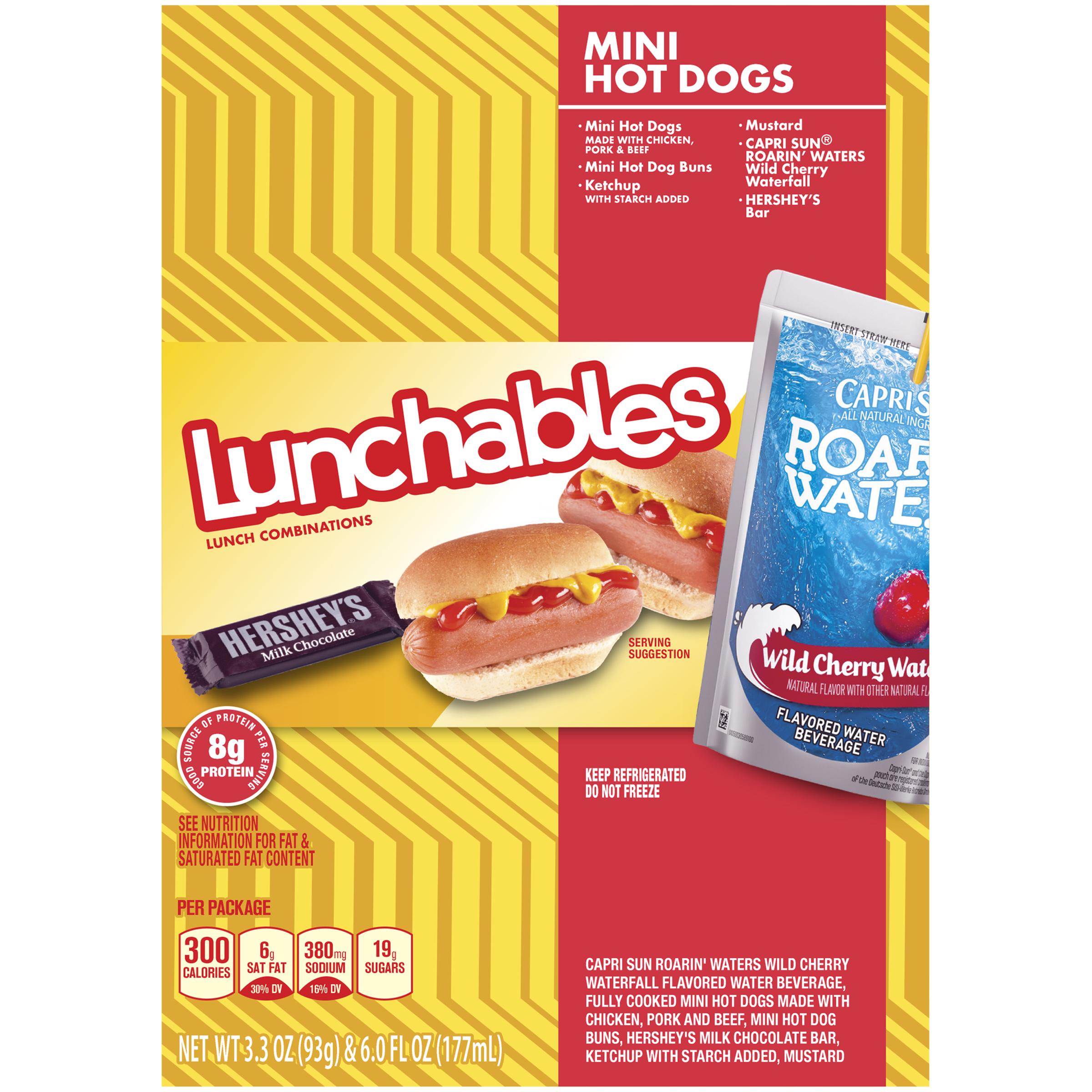 Oscar Mayer Lunchables Mini Hot Dogs, 9.3 oz Box
