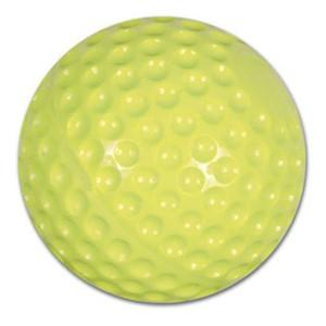 Champro Dimple Molded 12in Softball - Optic Yellow - per DZ 12.00in