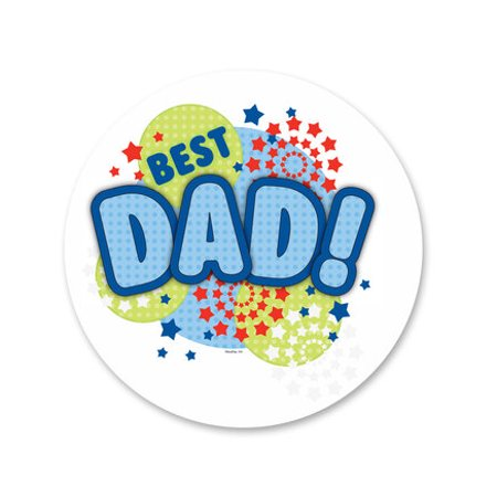 Best Dad Edible Icing Image Cake Decoration Topper -1/4