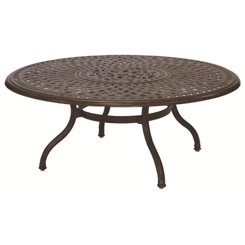 """Darlee 52"""" Round Patio Bistro Table with Ice Bucket"""