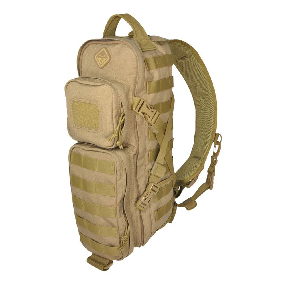 Hazard 4 Plan B Rotatable Front Back Modular MOLLE Backpack Sling Pack, Coyote
