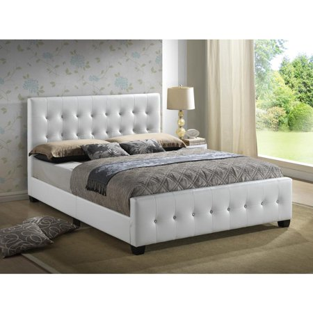 Glory Furniture Diamond G2587 Qb Up Queen Bed White Walmart Com
