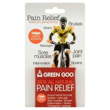 Green Goo Arnica Herbal Formula Pain Relief, .7 (Dark Pail)