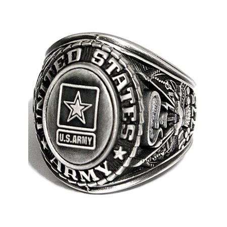 - United States Army Insignia Silver Ring