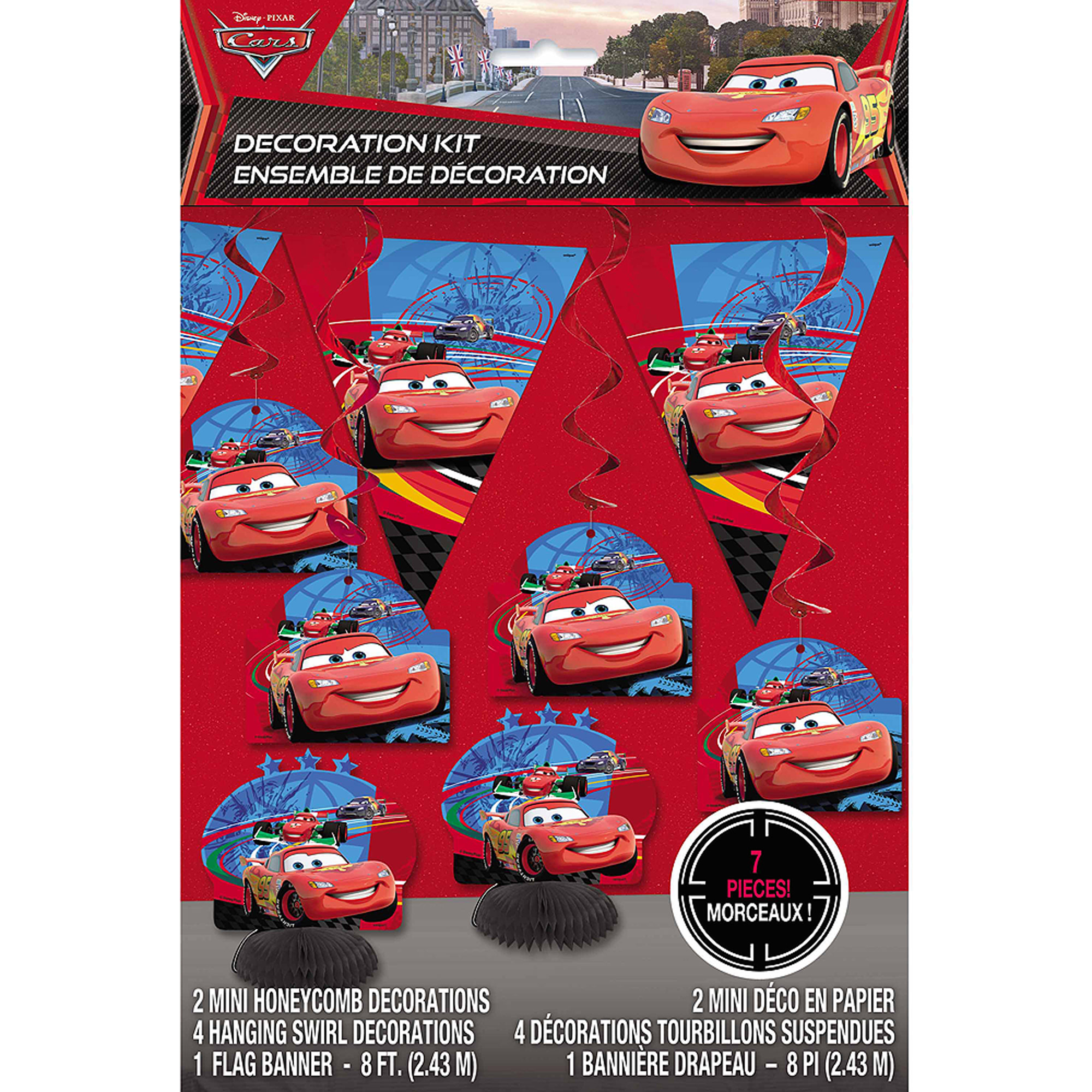 Disney Cars Decorating Kit, 7pc