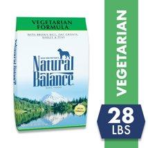 Dog Food: Natural Balance Vegetarian Formula