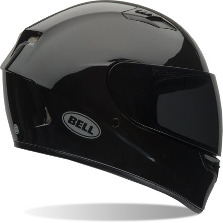 Bell Racing Qualifier Solid Gloss Black Adult Helmet XS-XXL Clear Shield