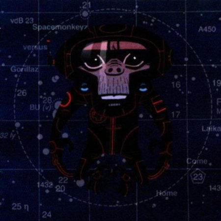 Space Monkey vs. Gorillaz - Laika Come Home [CD]