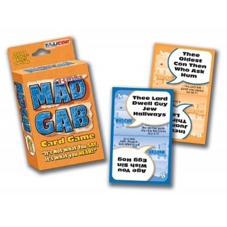 Game-Bible Mad Gab Card Game (2 Or More Players) (Mad Gab Game)