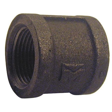 Coupling Black Iron (Value Brand 3/4