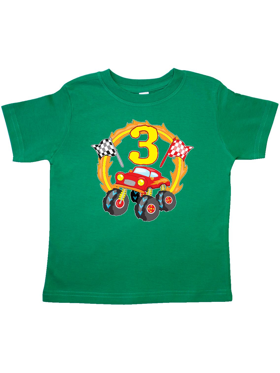 Monster Truck 3rd birthday Toddler T-Shirt
